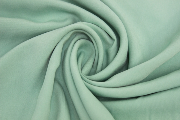 Viskose Chiffon Uni dusty mint