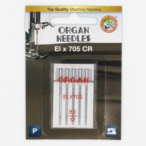 Organ Overlock/Coverlock ELX705 PB 5 Stk. Stärke 80
