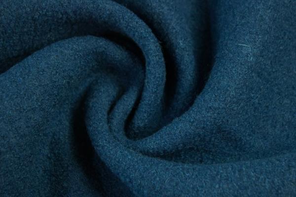 Walk 100% Schurwolle jeans dunkel 410gr/m²