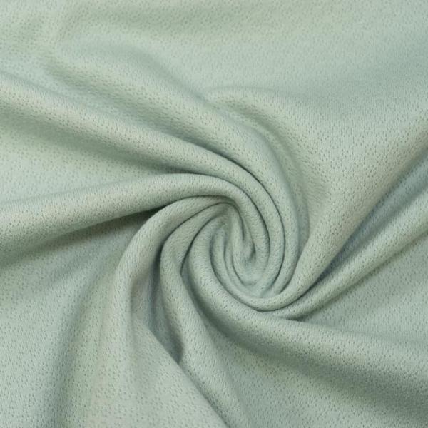 Baumwollstrick Fine Knit Dots mint