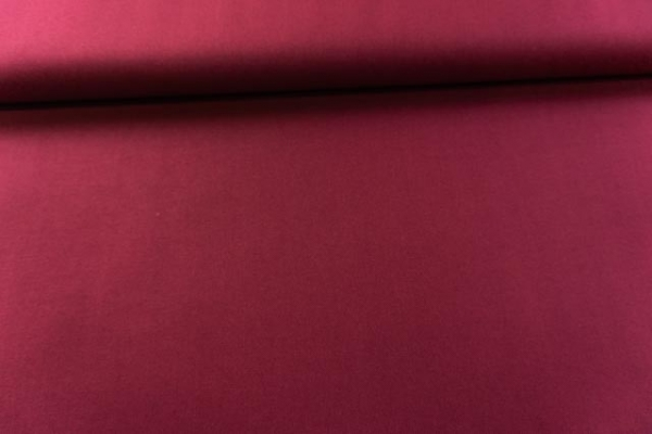 Canvas Premium Uni bordeaux 100% Baumwolle Ökotex 100