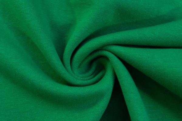 Bündchen Feinstrick UNI apfelgrün -hohe Sprungkraft- Ökotex 100