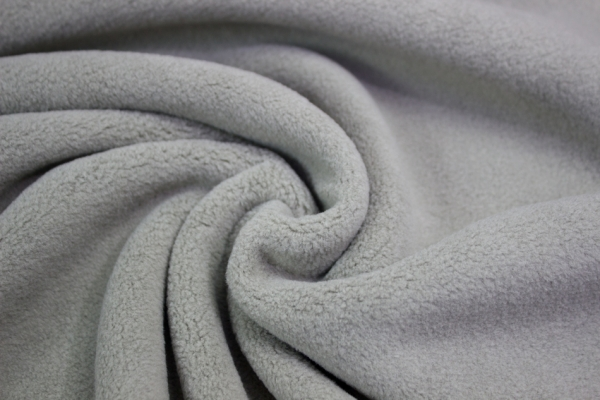 Baumwoll Fleece Sweat Taupe-hell Ökotex 100