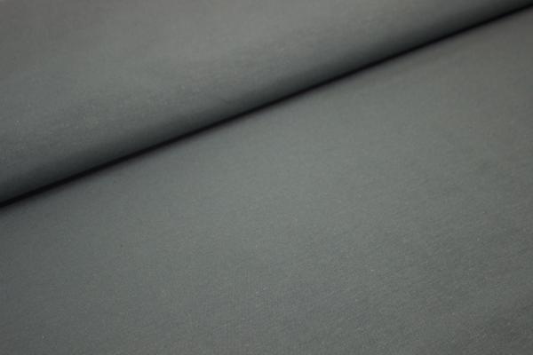 Canvas UNI DUNKELGRAU 100% Baumwolle Ökotex 100