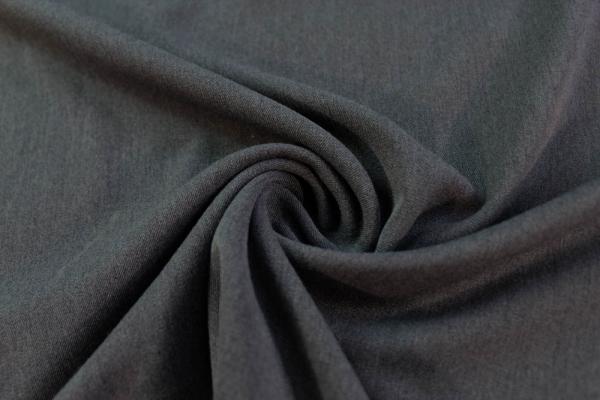Twill Hosenstoff bi-elastisch Wool Touch Meliert anthra Öko Tex 100