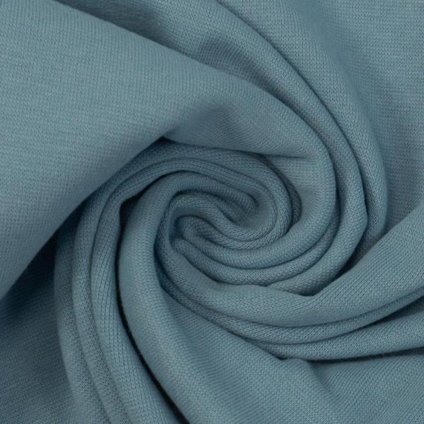 Bündchen Feinstrick UNI jeansblau hell