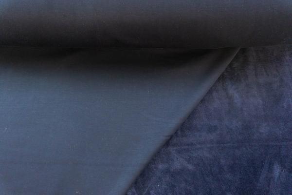 Alpenfleece Sweat Uni navy Ökotex 100 - ohne Polyester -