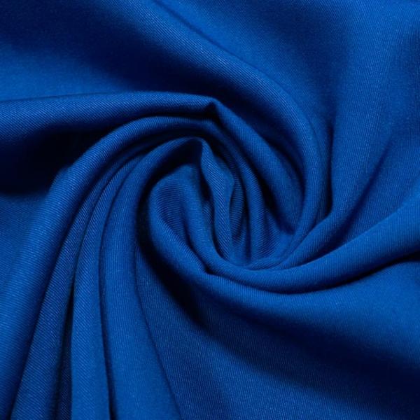 Bambootwill Uni königsblau