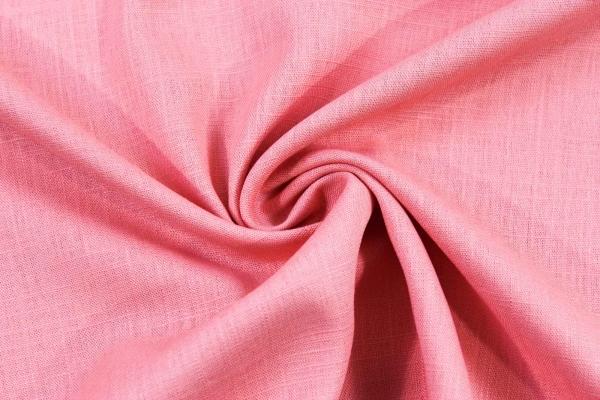 Leinen UNI rosa Ökotex 100