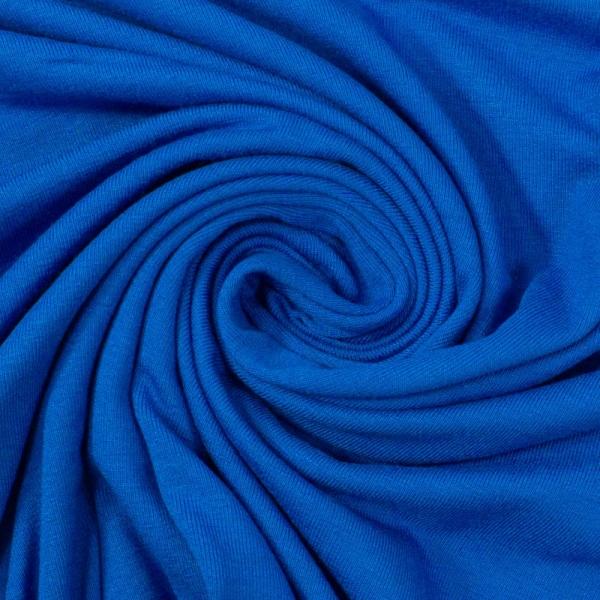 Viskosejersey Uni Vicky königsblau