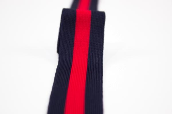 Galonband navy-rot Ökotex 100