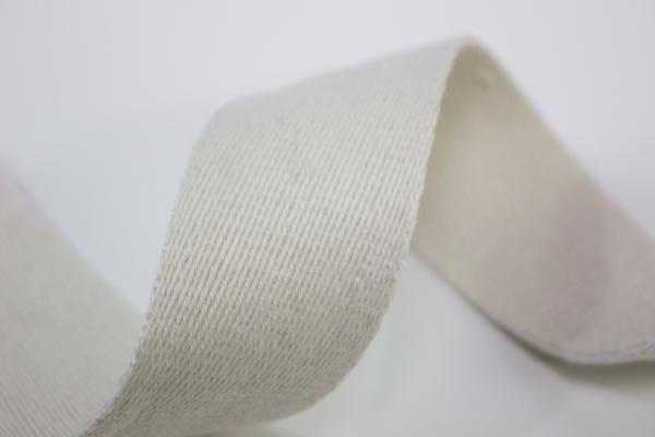 Gurtband 40mm natur 100% Baumwolle Ökotex 100