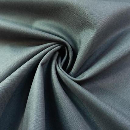 Canvas Premium Uni anthra 100% Baumwolle Ökotex 100