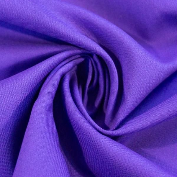 Baumwollwebware Fahnentuch Uni lila Ökotex 100