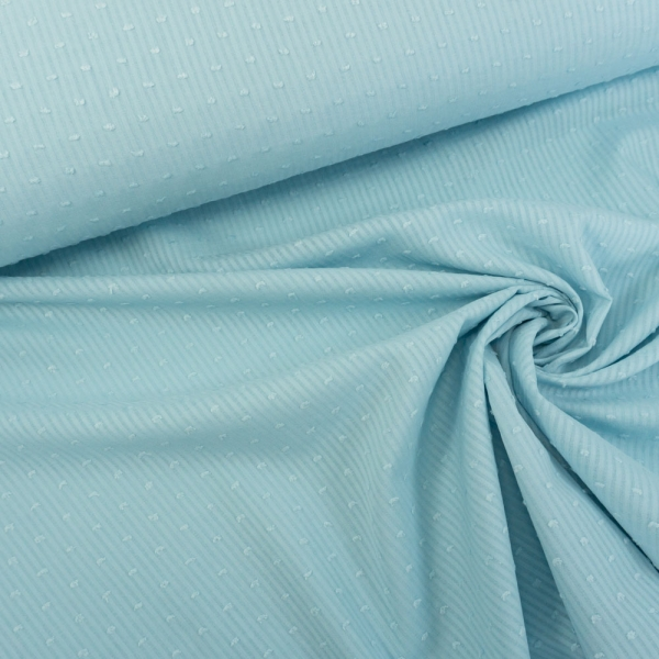 Voile Stripes hellblau