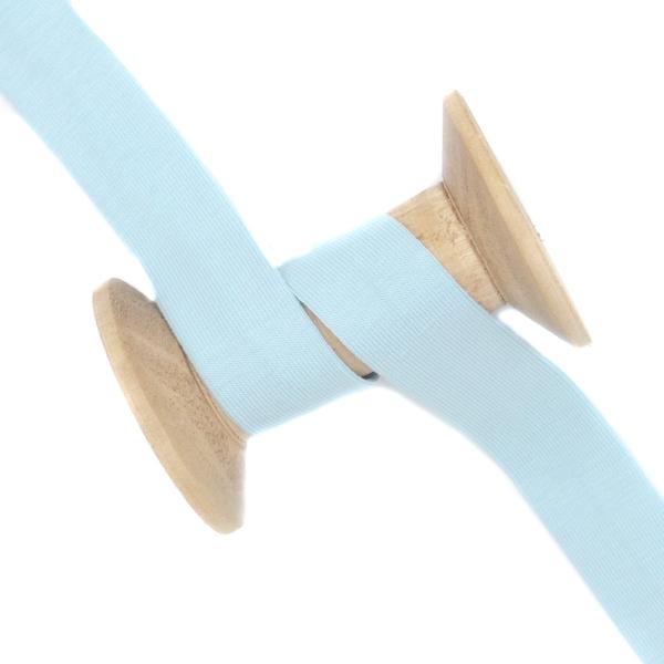 Jersey Schrägband Deluxe pastellblau