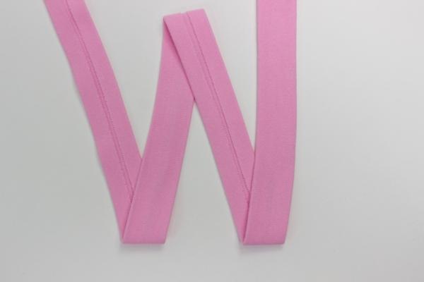 Jersey Schrägband vorgefalzt rosa
