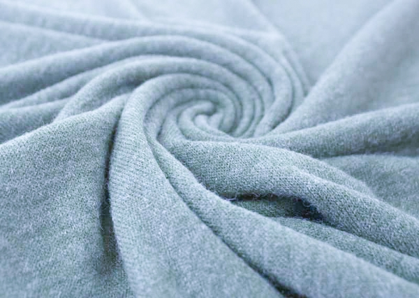 Strick-Jersey Angorastyle dusty blue - super kuschelig Ökotex 100
