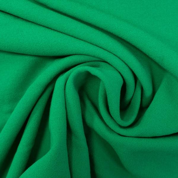 Viskose Krepp Uni grün