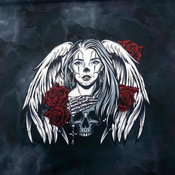 Bio-Sweat French Terry PANEL Angel Soul