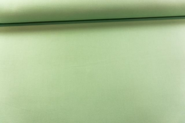 Canvas Premium Uni lindgrün 100% Baumwolle Ökotex 100