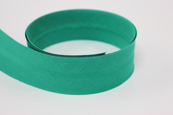 Schrägband 2 oder 4cm breit vorgefalzt apfelgrün Ökotex 100