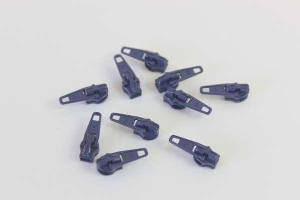 Zipper navy 12mm