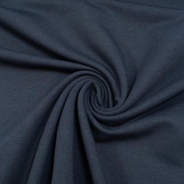 BIO Sommersweat French Terry Uni navy
