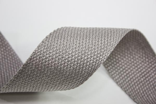 Gurtband 40mm hellgrau Polyester Ökotex 100