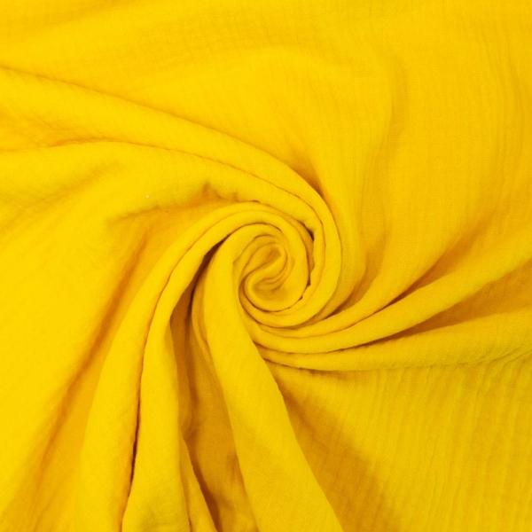 Musselin Mara Double Gauze UNI lemon