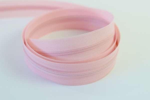 Nahtverdeckter Reißverschluss rosa unsichtbar Ökotex 100