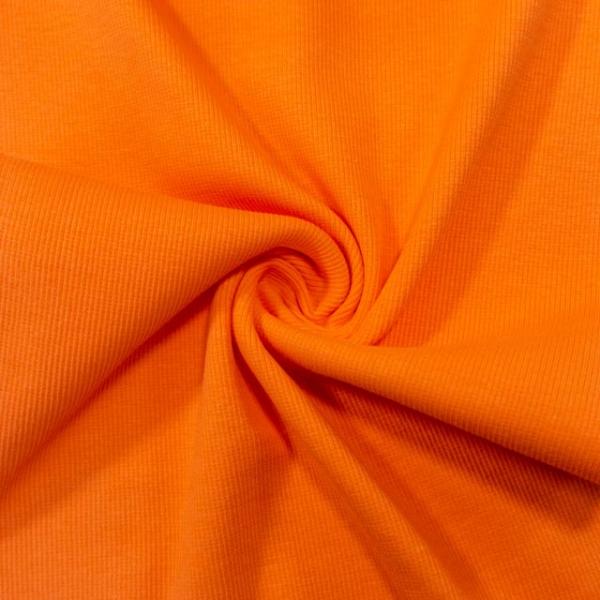 Bündchen Fein-Ripp Anna orange