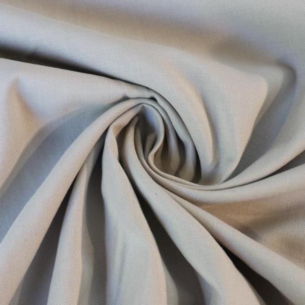Baumwollwebware Fahnentuch Uni beige Ökotex 100
