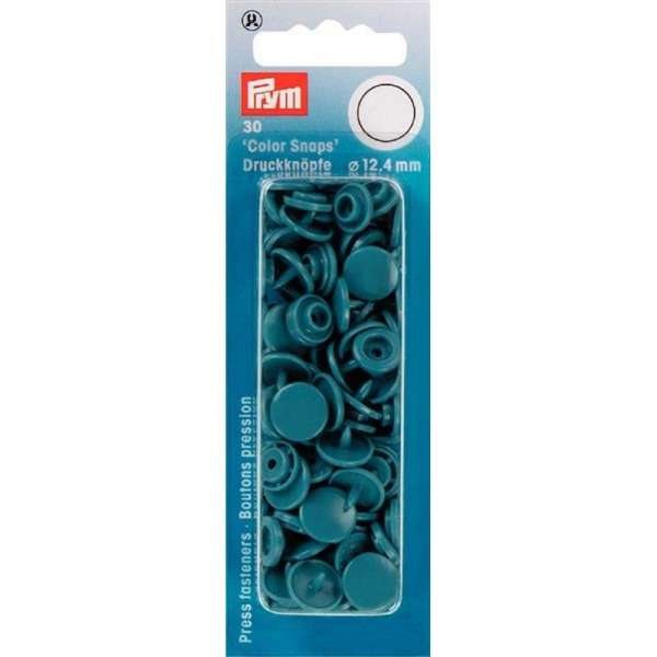 Prym Color Snaps petrol hell rund 12,4mm
