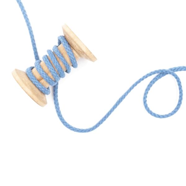 Kordel geflochten 6mm jeansblau