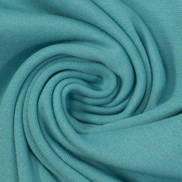 Bündchen Feinstrick UNI dusty blue