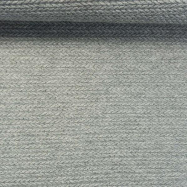 Jacquard Angora Touch grau