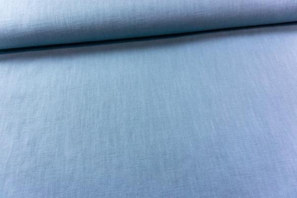 Premium Leinen UNI jeansblau 100 % Leinen