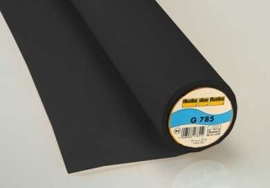 Vlieseline / Bügeleinlage G 785 schwarz