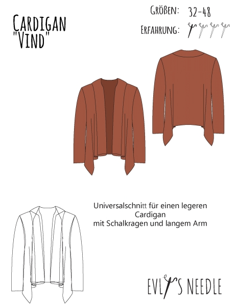 eBook VIND Cardigan