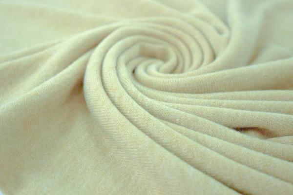 Strick-Jersey Angorastyle light beige melange - super kuschelig Ökotex 100