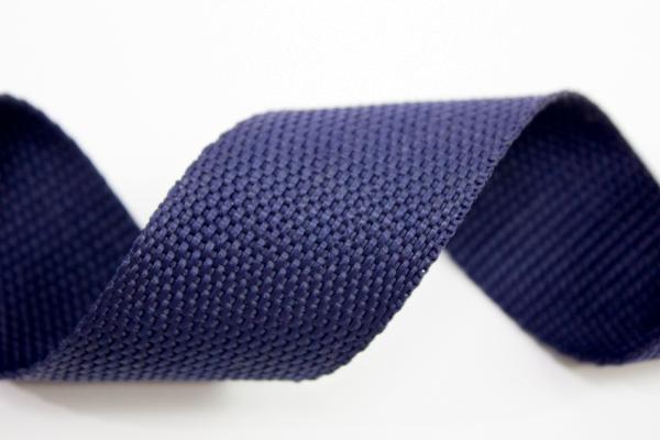Gurtband 40mm navy Polyester Ökotex 100