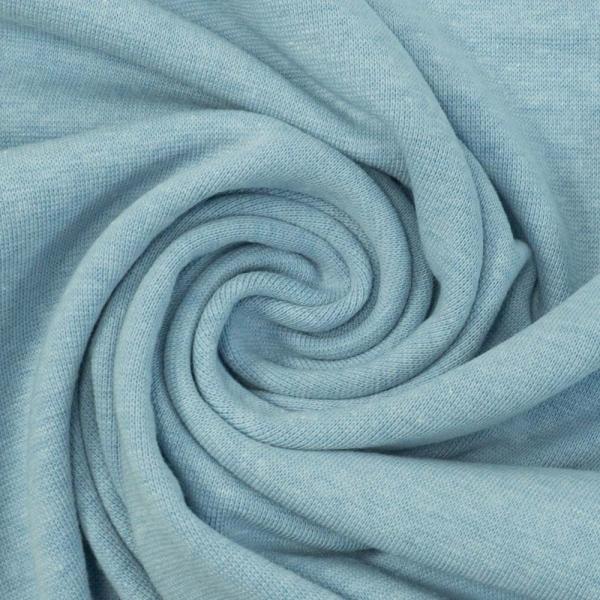 Bündchen Feinstrick MELIERT jeansblau