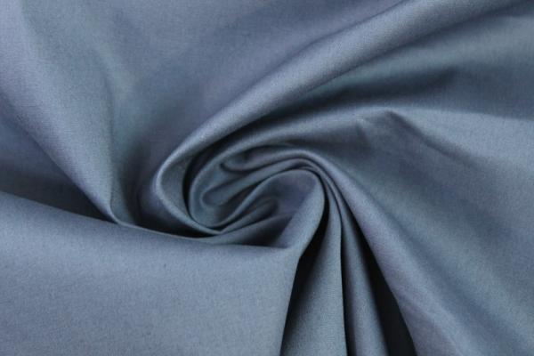 Baumwolle Poplin Stretch Uni knitterarm jeansblau dunkel Ökotex 100