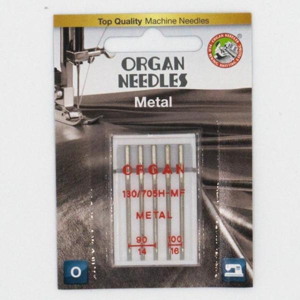 Organ Metall 5 Stk. Stärke 90-100