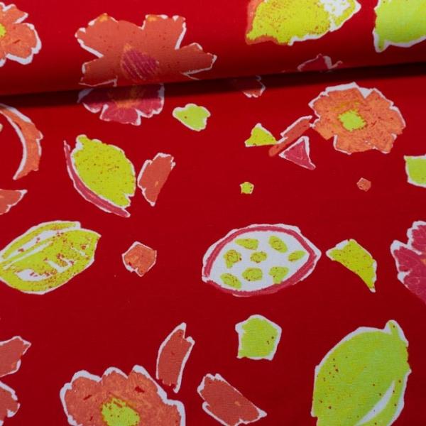 Canvas Abstrakt rot