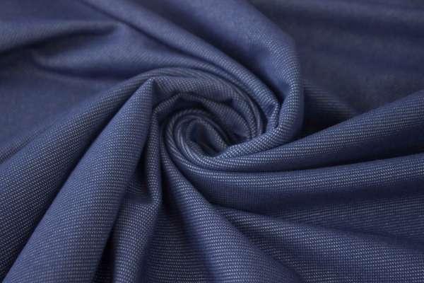 Baumwoll Jeansjersey jeans dunkel Ökotex 100