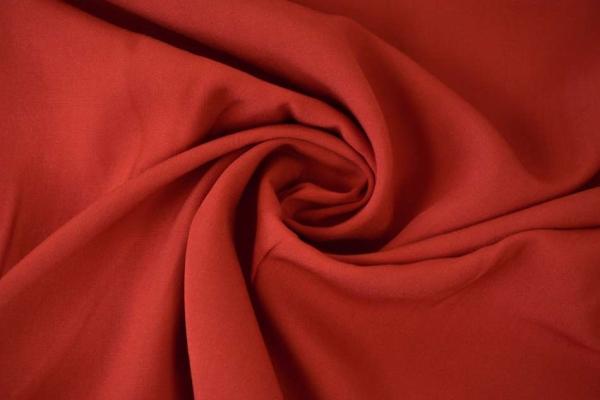 Viskose Chiffon Uni rot Ökotex 100