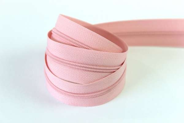 Endlosreißverschluss rosa 16mm Ökotex 100