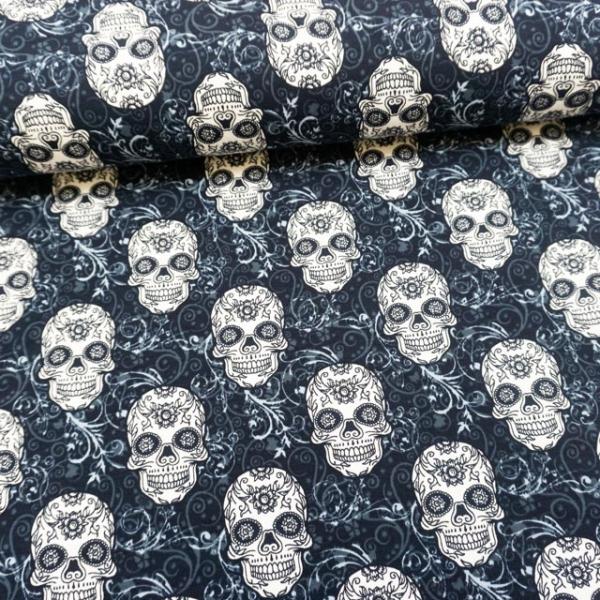 BIO Sommersweat Lovely Skull navy
